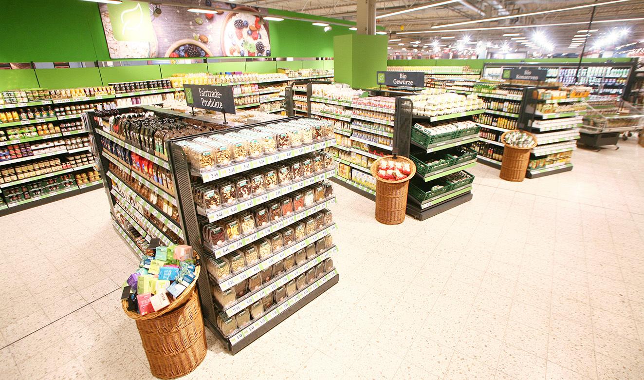 Eine große Auswahl und Vielfalt an Bio Produkten bei uns im Markt.