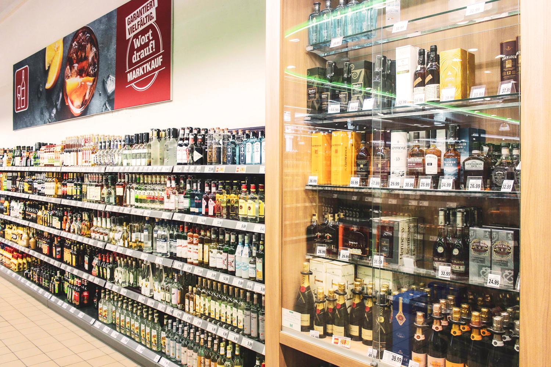 Edle Spirituosen von Whisky über Gin bis hin zu Cognac.