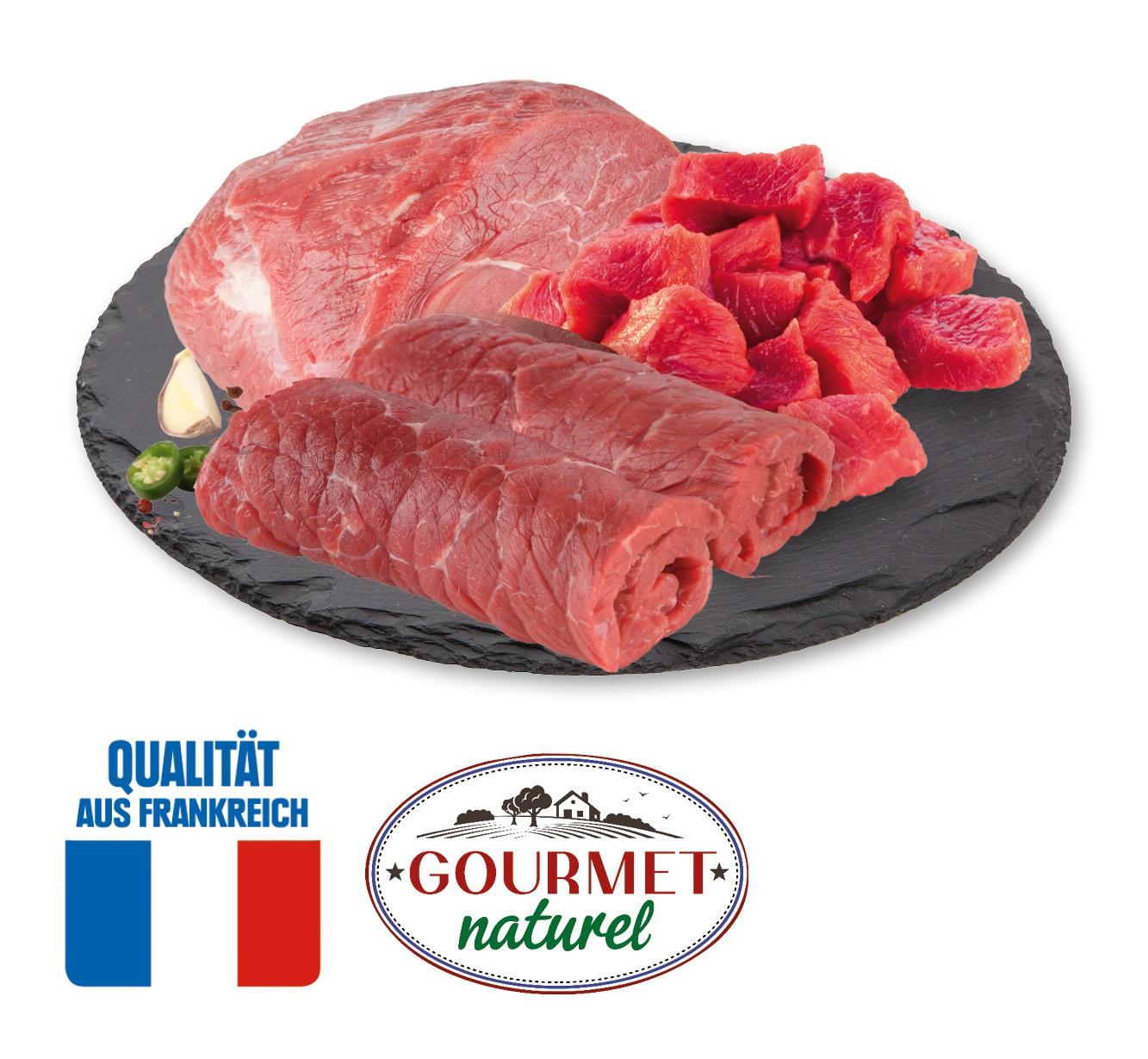 Original französische Rinderrouladen, -schmorbraten  oder -bratengulasch
