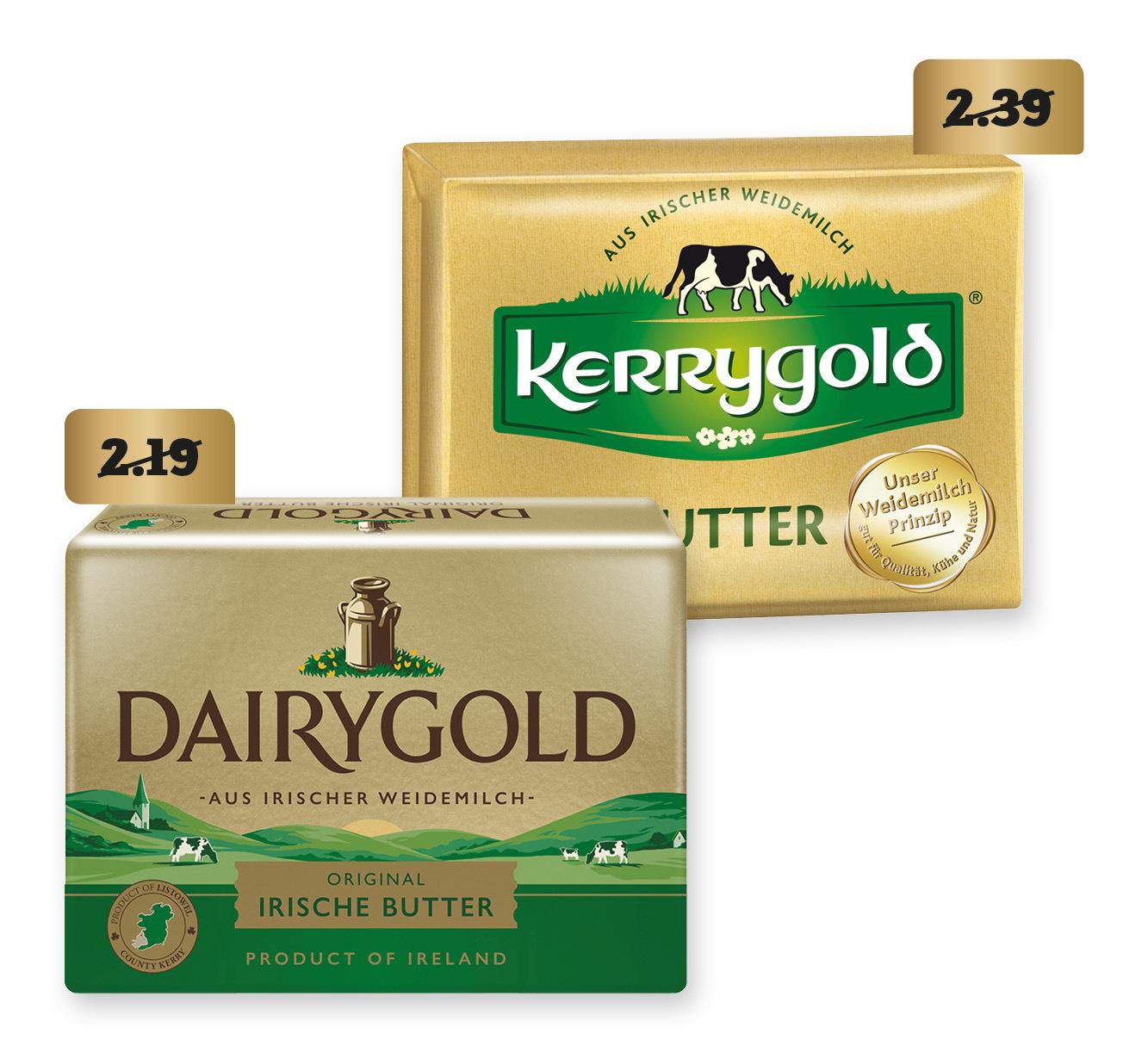 Dairygold Original Irische Butter, Streichzart