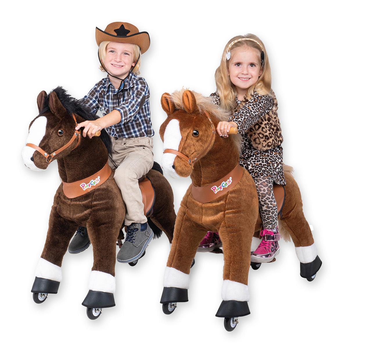 """Ponycycle-Pferd mit Sound  <br /> """"Mister Ed"""" oder """"Amadeus"""""""