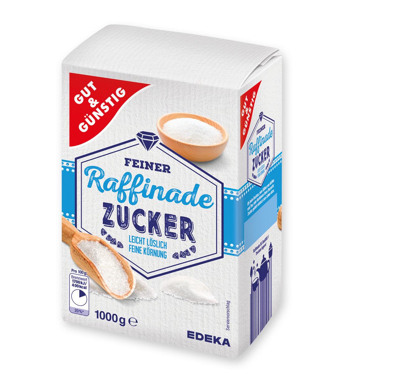 Gut & Günstig <br /> Feiner Raffinade Zucker