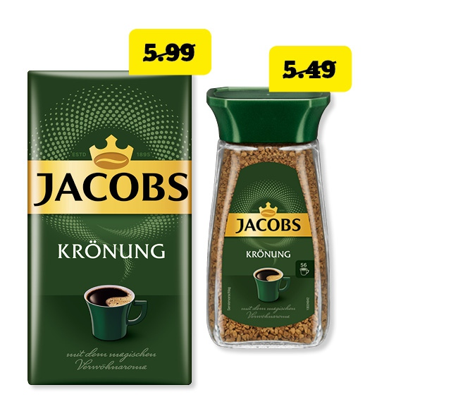 Jacobs <br /> Krönung Kaffee
