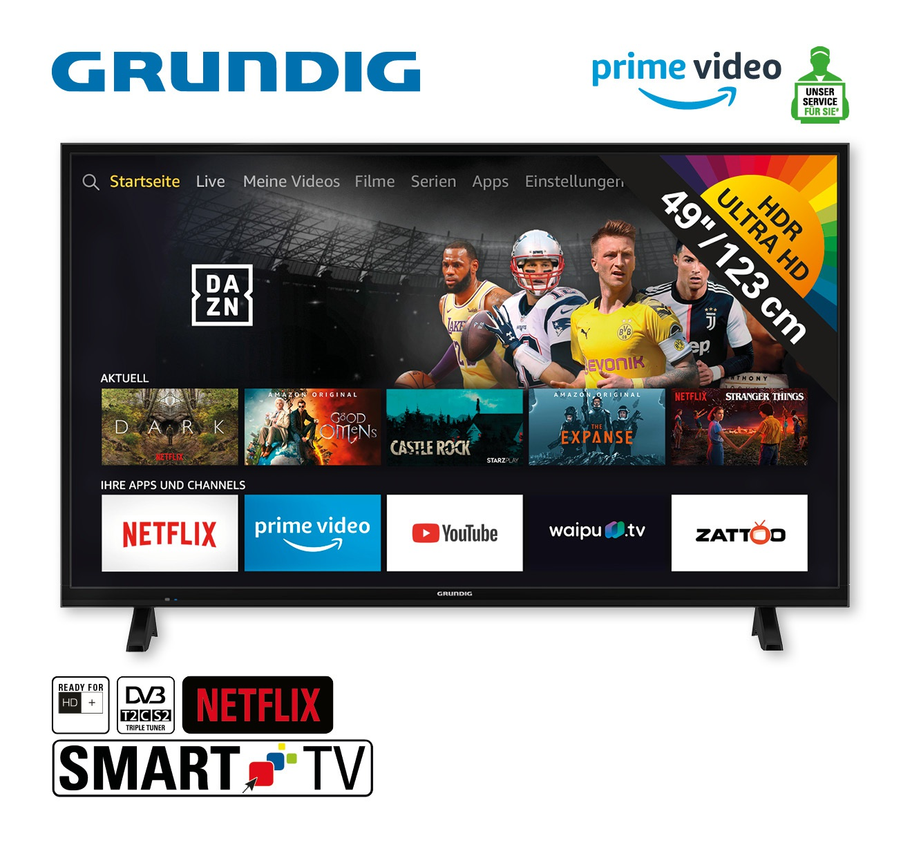 "4K UHD TV ""49 VLX 6000 - Fire TV Edition"""